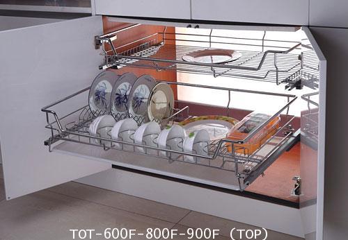 ตะแกรงคว่ำจาน - ใส่ของ 60, 80, 90 ซม. รุ่นไม่มีถาด (TOT-600F-800F-900F)
