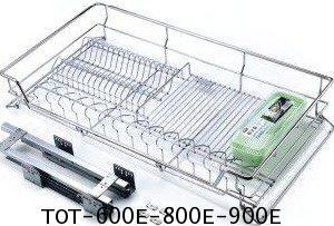 ตะแกรงอเนกประสงค์ ใส่จาน 60, 80, 90 ซม. มีถาด - (TOT-600E-800E-900E) 2