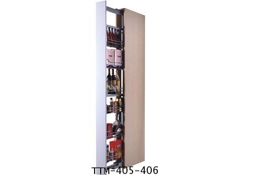 ตะแกรงอเนกประสงค์ตู้สูง บานดึง 5, 6 ชั้น (TTM-305-405-406)