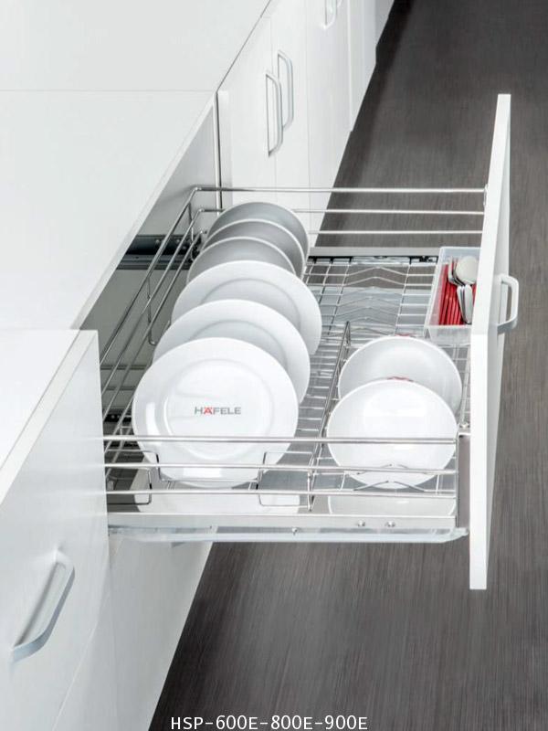 ตะแกรงอเนกประสงค์ สแตนเลส คว่ำจาน หน้าบานดึง 60, 80, 90 ซม. (HSP-600E-800E-900E)