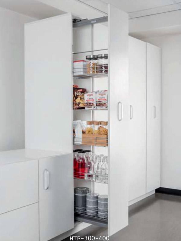 ตะแกรงอเนกประสงค์ สแตนเลส ตู้สูง หน้าบานดึง 30, 40 ซม. (HTP-300-400)