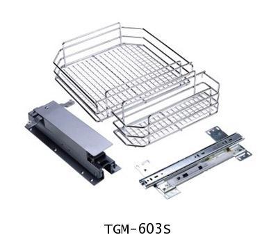 ตะแกรงอเนกประสงค์ สแตนเลส ตู้สูง บานเปิด 3, 5 ชั้น ขนาด 60 ซม. (TGM-603S-605S) 1