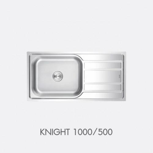 ซิงค์ล้างจาน สแตนเลส 1หลุม EVE รุ่น KNIGHT 1000/500