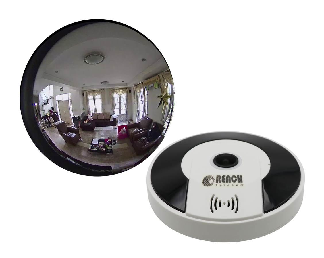 กล้องวงจรปิด ไร้สาย Panoramic IP Camera model X2