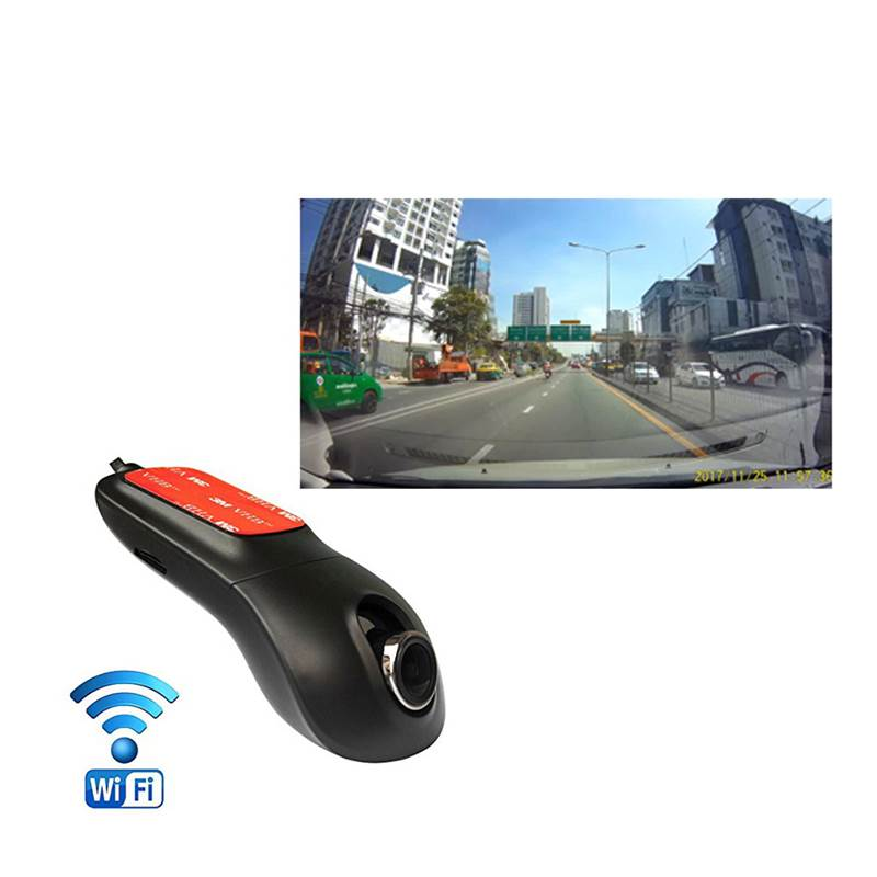 กล้องติดรถยนต์ Hidden Wifi DVR model L1