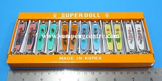 กรรไกรตัดเล็บ Superdoll