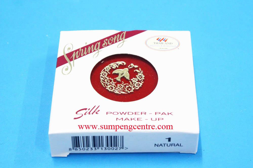 แป้งทาหน้า สปริงซอง silk powder no.1