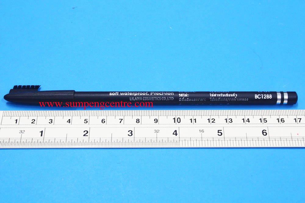 ดินสอเขียนคิ้วมีแปรงสีดำ 3