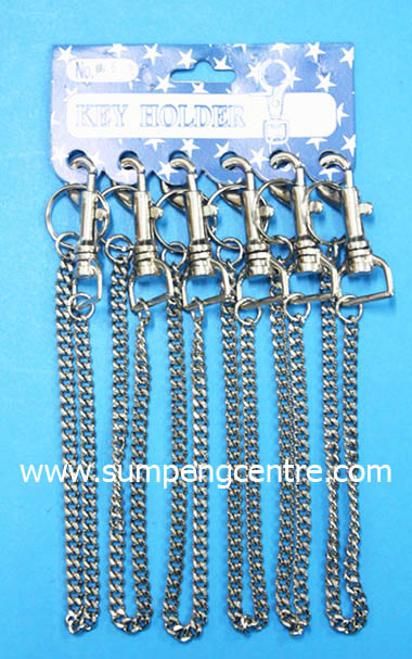 พวงกุญแจก้ามปู มีโซ่ no:042