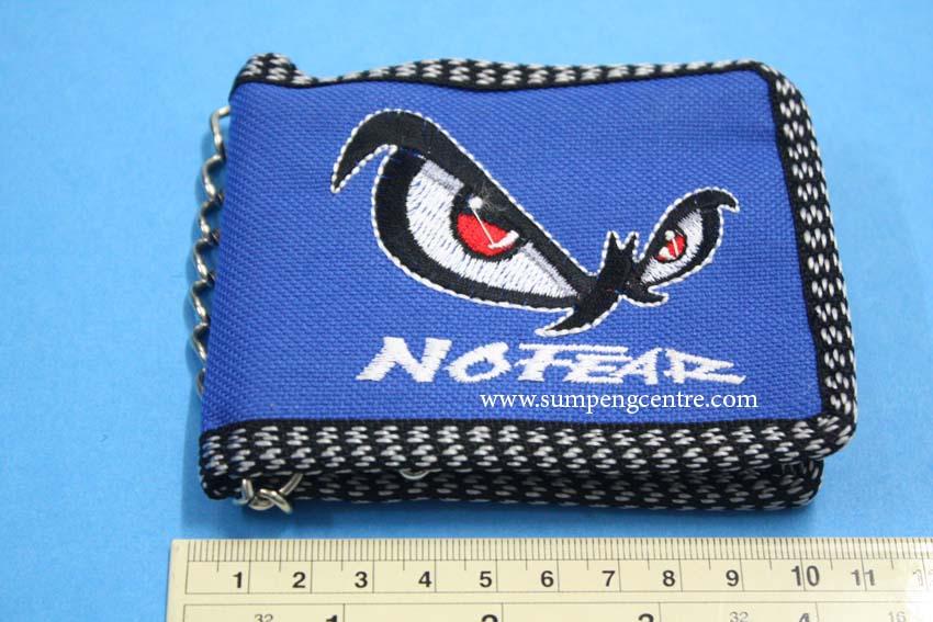 กระเป๋าสตางค์มีโซ่ No Fear 2 พับ คละสี - เล็ก