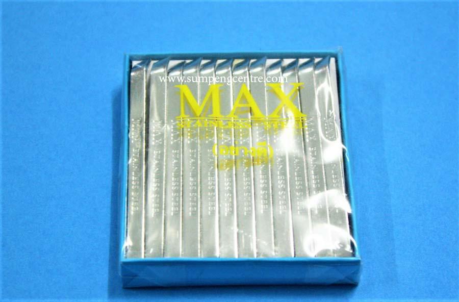 แหนบสแตนเลส Max ยาว - ปากเฉียง