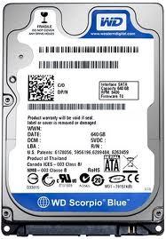 HDD WD N/B 500GB/5400 RPM