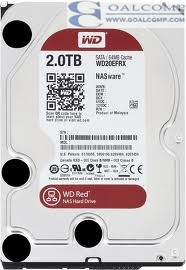 HDD WD2TB RED/NAS/64MB/EFRX-3YEAR