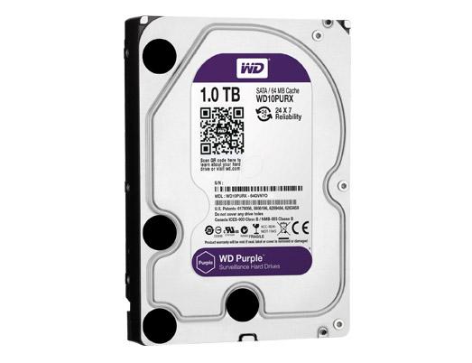 HDD WD 1TB PURPLE /SATA3/64MB-3 YEAR