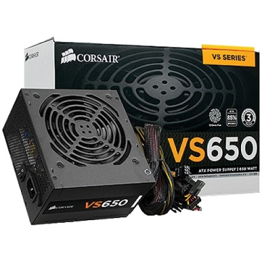 POWER SUPPLY CORSAIR 650W (VS650) 80+WHITE