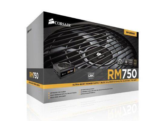 POWER SUPPLY CORSAIR 750W (RM750) 80+GOLD