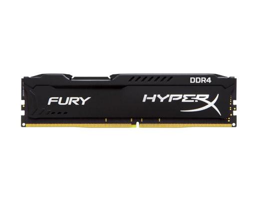 8 GB RAM PC DDR4/2400 KINGSTON HYPER-X FURY BLACK
