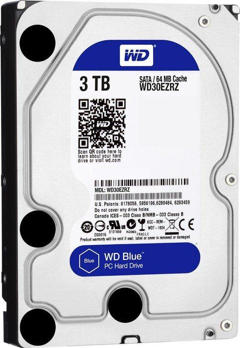 3.0 TB HDD WD SATA-3 BLUE