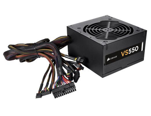 POWER SUPPLY CORSAIR 550W VS550 (80+WHITE)
