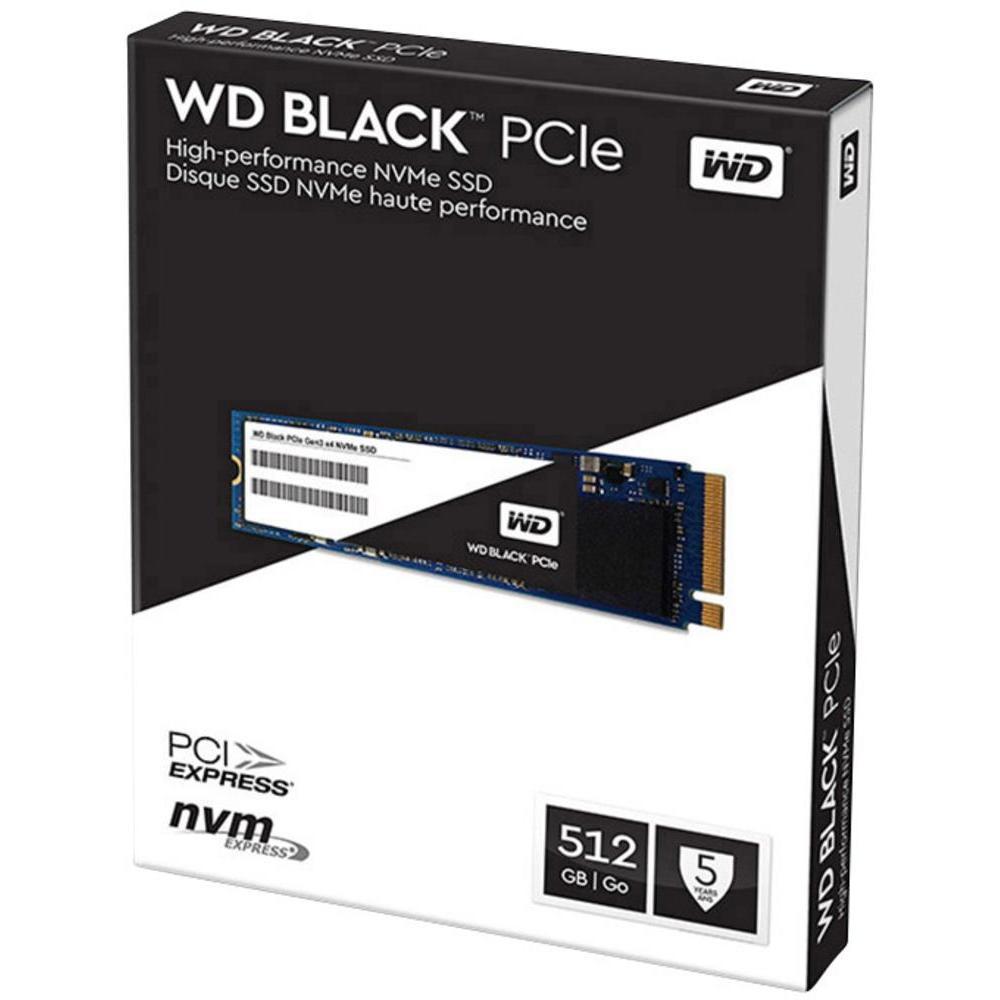 512 GB SSD WD BLACK M.2 (WDS512G1X0C)