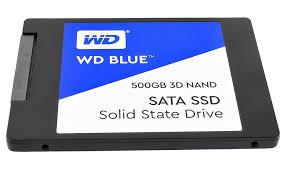 SSD 500GB WD BLUE 3D NAND (WDSSD500GB) SATA (H) 3-Y
