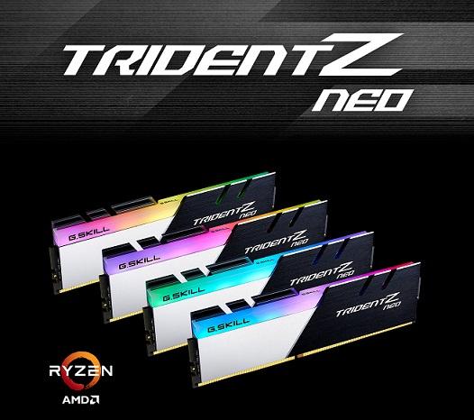 32GB (16GBx2) DDR4/3600 RAM PC G.SKILL TRIDENT Z NEO (F4-3600C18D-32GTZN)