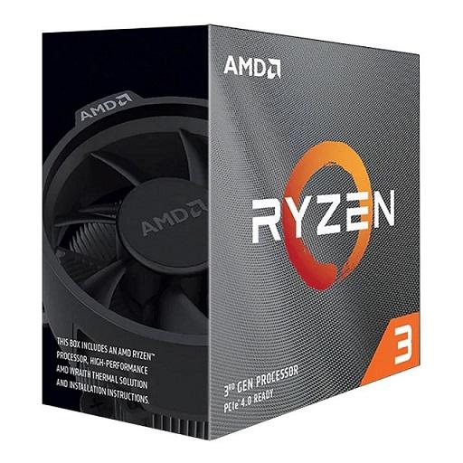 CPU (ซีพียู) AMD AM4 RYZEN3 3100 3.6 GHz