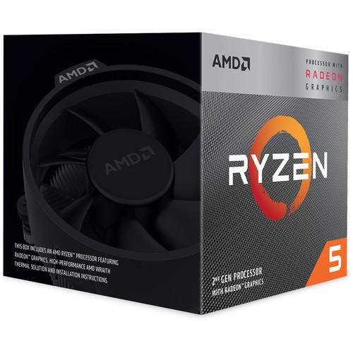 CPU (ซีพียู) AMD AM4 RYZEN5 3400G 3.7 GHz
