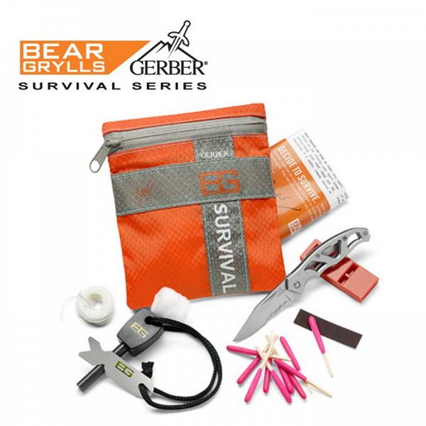 ชุดอุปกรณ์ยังชีพ Gerber Bear Grylls Basic Kit 31-000700