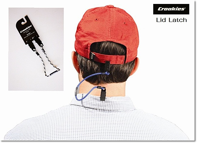 สายกันหมวกปลิว Croakies @Lid Latch