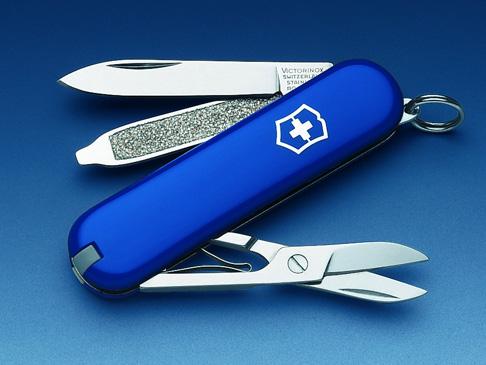 มีดพับ Victorinox Classic SD Blue
