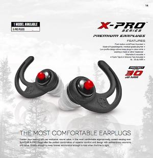 ที่อุดหูลดระดับเสียง SportEar รุ่น X-Pro Series