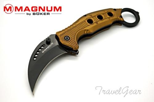 มีดพับ BOKER Magnum Black Scorpion 01MB713