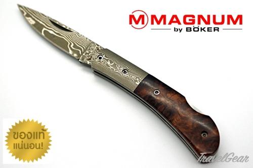 มีดพับดามากัส Böker Magnum Quincewood 01MB550DAM
