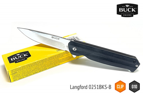 มีด BUCK Langford 0251GKS-B ( ด้าม G10 )