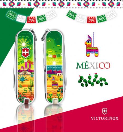 มีดพับ Victorinox รุ่น Classic SD Limited Edition 2018, Mexican Sunset