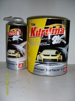 สีพ่นรองพื้นคูรูม่า Kuruma 2K 4:1 A+B 4.785 ลิตร