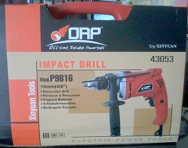 ORP สว่านไฟฟ้ากระแทก 5หน P9816