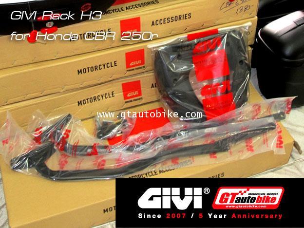 GIVI Rack H3 for Honda CBR 250r / CBR 300
