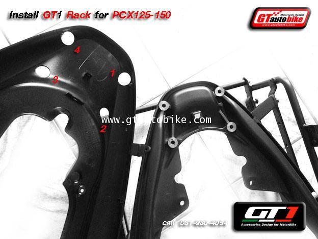 * New GT1 Rack Edition / Plate for PCX 125, 150  New PCX 2014 3
