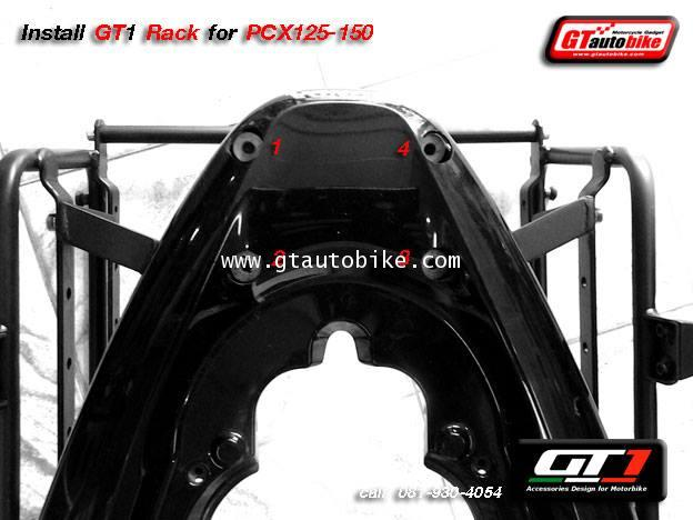 * New GT1 Rack Edition / Plate for PCX 125, 150  New PCX 2014 4