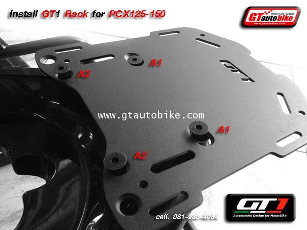 * New GT1 Rack Edition / Plate for PCX 125, 150  New PCX 2014 6