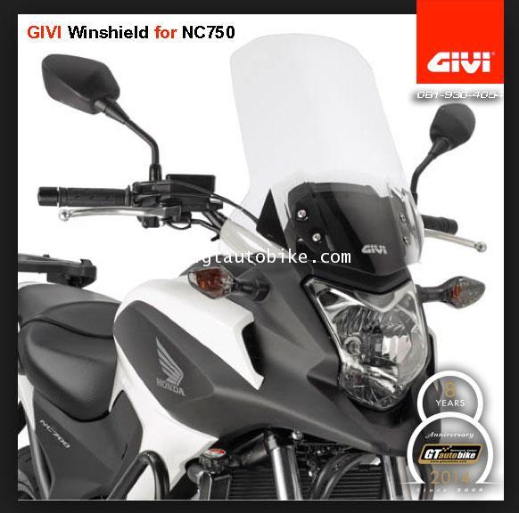 Windshield NC700 / NC750