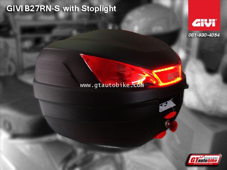 GIVI B27NS with Stoplight