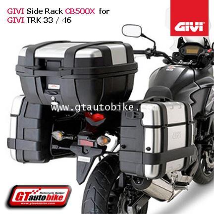 GIVI PL1121 Siderack GIVI TRK for CB500X