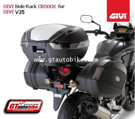 GIVI PLX1121 Siderack GIVI V35 for CB500X