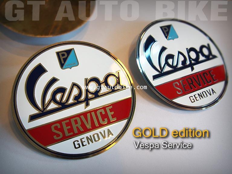 Vespa Service / Gold edition