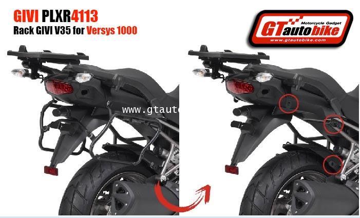 GIVI PLXR 4113 Side Rack for Versys1000 / 2015 for V35