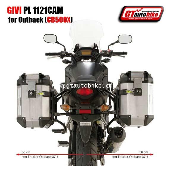 GIVI PL 1121CAM for Outback (CB500X)