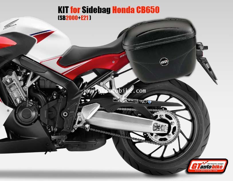 KIT for Sidebags CB650(for SB2000 / GIVI E21, E22)